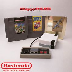 Something we loved from Instagram! Here's some of my personal favorites from NES. Relive all your old favorites on Rastendo no cartridges needed. #Happy30thNES #RetroPie #RaspberryPi #RetroGaming #retro #retrogamer #retrogames #gamer #gaming #nes #snes #sega #n64 #nintendo64 #PSX #videogames #emulator #3Dprinting #emulationstation #kickstarter #instagaming #ninstagram #igersnintendo #igerssega by rastendo Check us out http://bit.ly/1KyLetq