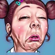 20 Ideas Funny Face Illustration Girls For 2019 Funny Baby Quotes, Funny Mom Memes, Funny Jokes For Kids, Silly Faces, Meme Faces, Funny Faces, Cute Cartoon Pictures, Funny Pictures, Funny Face Drawings