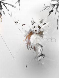 30 illustrations originales autour du panda - graphisme