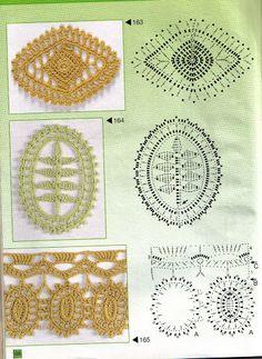 Kafijas krūze: Tamborējumu shēmas (crochet schemes)
