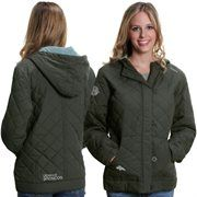 Pro Line Denver Broncos Womens Siberian Puff Full Zip Jacket ...