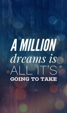 A million dreams lyrics The Greatest Showman