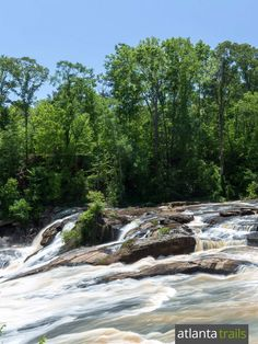 Hike to stunning waterfall views at High Falls State Park near Macon, GA on an easy, scenic 1.2-mile loop