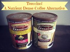 Teeccino! A Nutrient-Dense Coffee Alternative + Drink Recipes. Check it out.