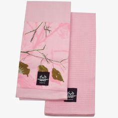 Realtree AP Pink Camo Kitchen Towel $7.99  #Realtreecamo #Realtreegear