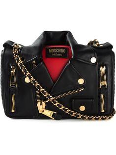 Moschino Biker Shoulder Bag - Stefania Mode - Farfetch.com