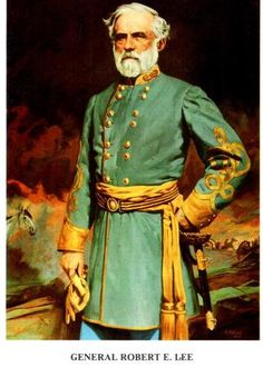 General Robert E Lee by Robert Wilson Signed Numbered Limited Edition Print