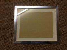 """MODERN SHINY CHROME PHOTOGRAPH/PICTURE FRAMES WITH PICTURE MOUNT - VARIOUS SIZES AVAILABLE (16"""" x 12"""" (to fit 14"""" x 10"""" image)) Photo/Picture Frames http://www.amazon.co.uk/dp/B00BLKBYUS/ref=cm_sw_r_pi_dp_-iyivb13HWZGF"""