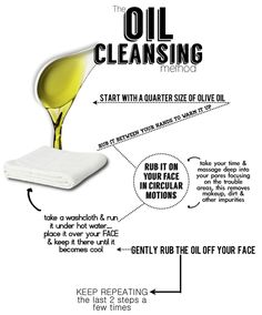 Washing your face with olive oil two or three times a week. Works like magic!