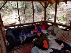 Idyllbrook Gazebo Cabin outdoor cabin life in Idyllwild