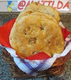 pan casero con chicharron
