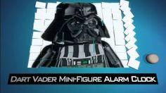 Star Wars Darth Vader Mini-Figure Alarm Clock - YouTube
