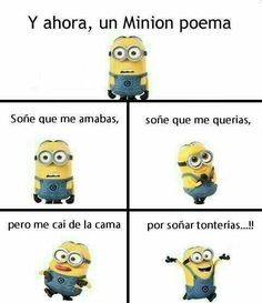 Hilarious boyfriend For all Minions fans this is your lucky day, we have collected some latest fresh insanely hilarious 100 Collection of Minions memes and Funny picturess Minions Fans, Minions Quotes, My Minion, Memes Humor, Funny Jokes, Hilarious, Minion Poemas, Funny Images, Funny Pictures