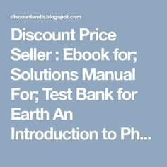Solutions manual for elementary geometry for college students 6th discount price seller ebook for solutions manual for test bank for earth an fandeluxe Image collections