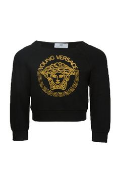 Girls Gold Medusa Sweater at PureAtlanta.com