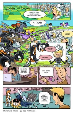 Noticing more views and comments on these lately, is this posted somewhere? Here's my other H&B strips- phill-art.deviantart.com/galle… I've always loved Calvin and Hobbes since I was re...