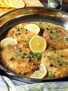 Pork Loin Piccata | tender, lean and easy to prepare | Low Carb, Gluten-free, Dairy-free, Paleo | momcanihavethat.com