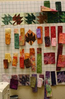 Sew'n Wild Oaks Quilting Blog: Scrappy Leaves Class is in Session