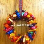 All Sweet Trees Christmas Wreath - The Supermums Craft Fair