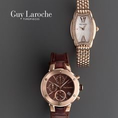 Hochkarätige Armbanduhren von Guy Laroche #Uhren #luxury