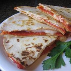 Quesadilla de queijo e presunto parma @ allrecipes.com.br