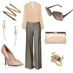 """business casual.. love nude! I actually like that I get to """"dress up"""" for work. Heels are becoming my friends again lol"""