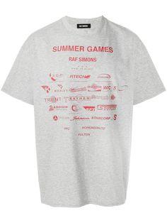 15715129dc0 Shop Raf Simons Summer games print T-shirt