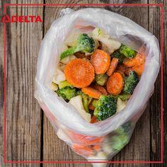 Her besinin donma süresi farklıdır. Derin dondurucuya koyduğunuz besinlerin iyi kapatılmış olmasına veya ağzının sıkıca bağlanmış olmasına dikkat edin. #delta #deltasoğutma #freezer #derindondurucu #besin #gıda