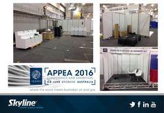 #APPEA2016 #BrisbaneConventionCentre #SkylineDisplays #ConferenceDisplays #ExhibitionDisplays