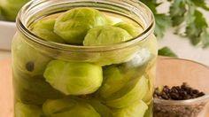 Маринованная брюссельская капуста для любителей разнообразия в кулинарных заготовках на зиму.