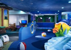 Kids play room at La Costa Resort and Spa