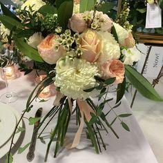 """#openstemmedbouquet#rusticwedding#DavidAustinRoses#peaches#weddings#Wildthyme"" Photo taken by @wildthyme1 on Instagram, pinned via the InstaPin iOS App! http://www.instapinapp.com (04/22/2015)"