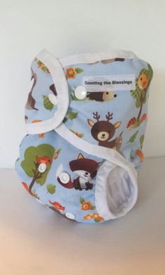 Cloth Diaper One Size Cloth Diaper cover by CountingtheBlessings, $17.00