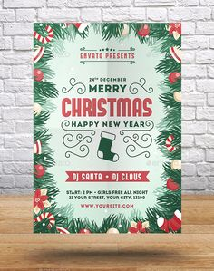 Christmas  New Year Flyer  Event Flyers Flyer Template And