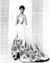 Audrey as Sabrina in Givency