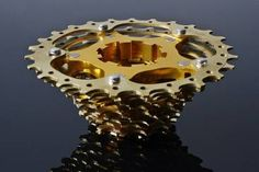 11-23/ 11-25/ 11-27 Titankassette für Campagnolo 11S-EPS, grau, gold.