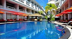 Dusit D2 Phuket Resort Formely the Destination Patong Hotel & Spa the Dusit D2 Phuket Resort is located towards the southern end of Patong Beach yet just a short walk from Patong beach and its fabulous shopping and entertainment venues.