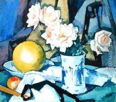 ❀ Blooming Brushwork ❀ - garden and still life flower paintings - Samuel Peploe