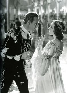 """don56: """"Norma Shearer and Leslie Howard in """"Romeo and Juliet"""" (1936) """""""