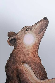 Aufkleber Großer Bär macht jede Wand zum Knutschen gern..Der großer Bär passt auf alles auf während du schläfst. Dort oben zwischen den Sternen scheint...