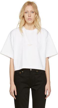 Acne Studios - White Cylea T-Shirt