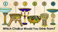 The Chalice is the sacred union of Male and Female It will help you know more about your magic! Which Magical Chalice Would You Drink From? O Ritual, Types Of Magic, Feeling Trapped, Greatest Mysteries, Evil Spirits, Archetypes, Optical Illusions, How To Fall Asleep, Symbols