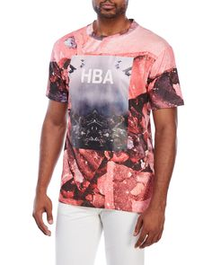 Hood By Air Crew Neck Graphic Tee