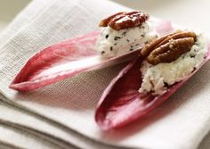 Endive Petals with Rosemary Chevre