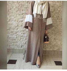 | Pinterest: ✨@fatemamerchant✨| Niqab Fashion, Modest Fashion Hijab, Street Hijab Fashion, Iranian Women Fashion, Islamic Fashion, Muslim Fashion, Estilo Abaya, Mode Kimono, Mode Abaya