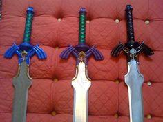 Zelda Master Sword Replica by LunarVoyagePropCo >> OMG!!