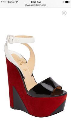 Shoes Fashion Louboutin wedge heel platform Sandal Wedge Sandals ee5d8ce16586