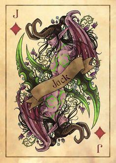 Illidan Stormrage by Art of Frenone WoW Playing Cards World Of Wacraft, The Chronicles Of Amber, Illidan Stormrage, Poseidon Tattoo, Vampires, Warcraft Art, Night Elf, Demon Hunter, My Favorite Image