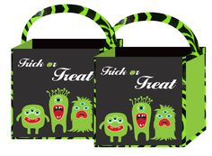 Halloween Trick-or-Treat Bag. Brought to you by TwistOP.com