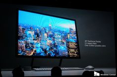 Surface Studio PC with Surface Dial announced by Microsoft
